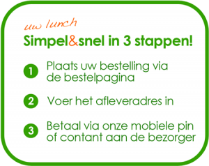 3 stappen licht groen